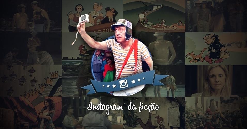 Instagram da ficção: veja como personagens famosos poderiam usar a rede social de fotos abre imagem inicial
