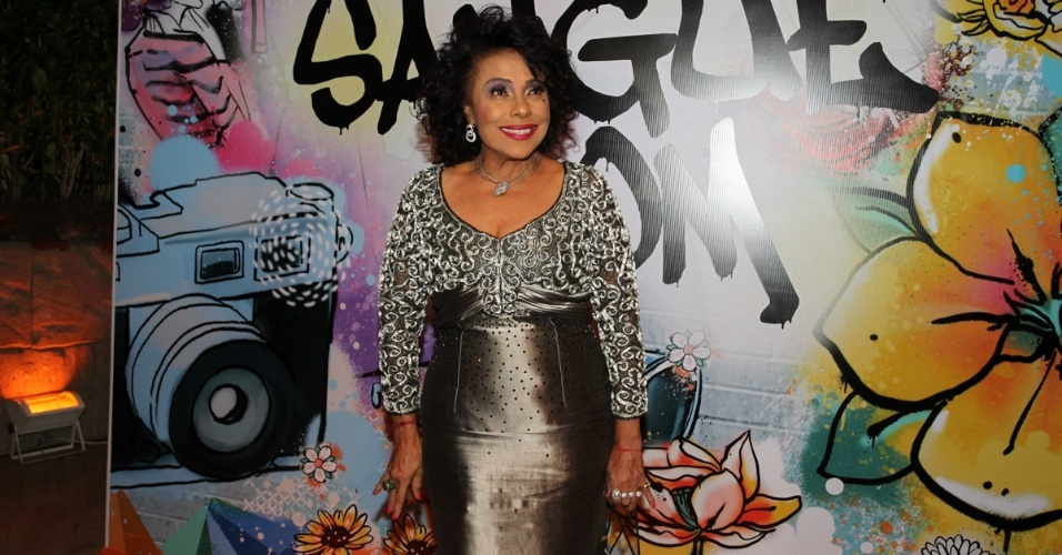 """17.abr.2013 - Eliana Pittiman na festa de lançamento de """"Sangue Bom"""" em São Paulo"""
