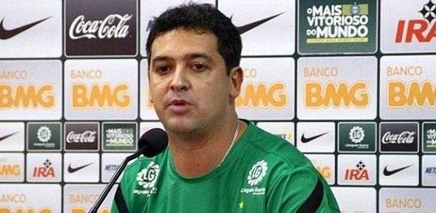 O Coritiba, do técnico Marquinhos Santos, não fará sua estreia na Copa BR nesta 5ª