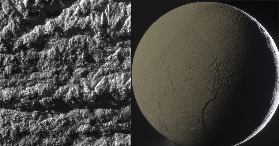 2011 - Enceladus, lua de Saturno