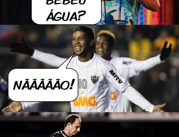 Corneta FC: Escolado, Ceni corta barato de piada de Ronaldinho