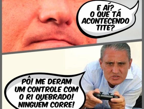 Corneta FC: Tite está sem controle