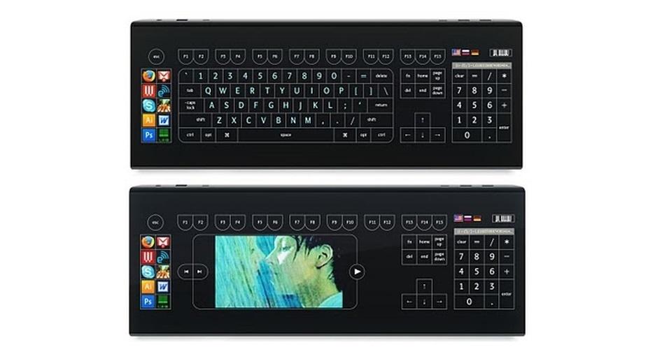 O Optimus Tactus é um teclado sem botões físicos. Por isso, o usuário pode customiza-lo como prefere, inserindo atalhos e mudando a posição das letras - inclusive inserindo vídeos nele. O produto ainda é um conceito e não tem preço ou prazo de lançamento