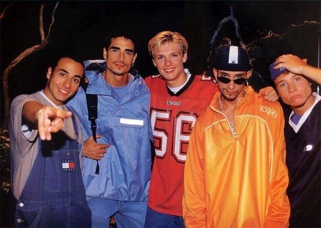 Os integrantes Brian e Kevin são primos e os únicos com grau de parentesco no grupo. Na foto, a banda no início da carreira
