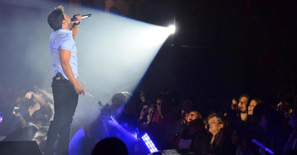 19.abr.2013 - Zezé Di Camargo e Luciano comemoram 22 anos de carreira com a turnê