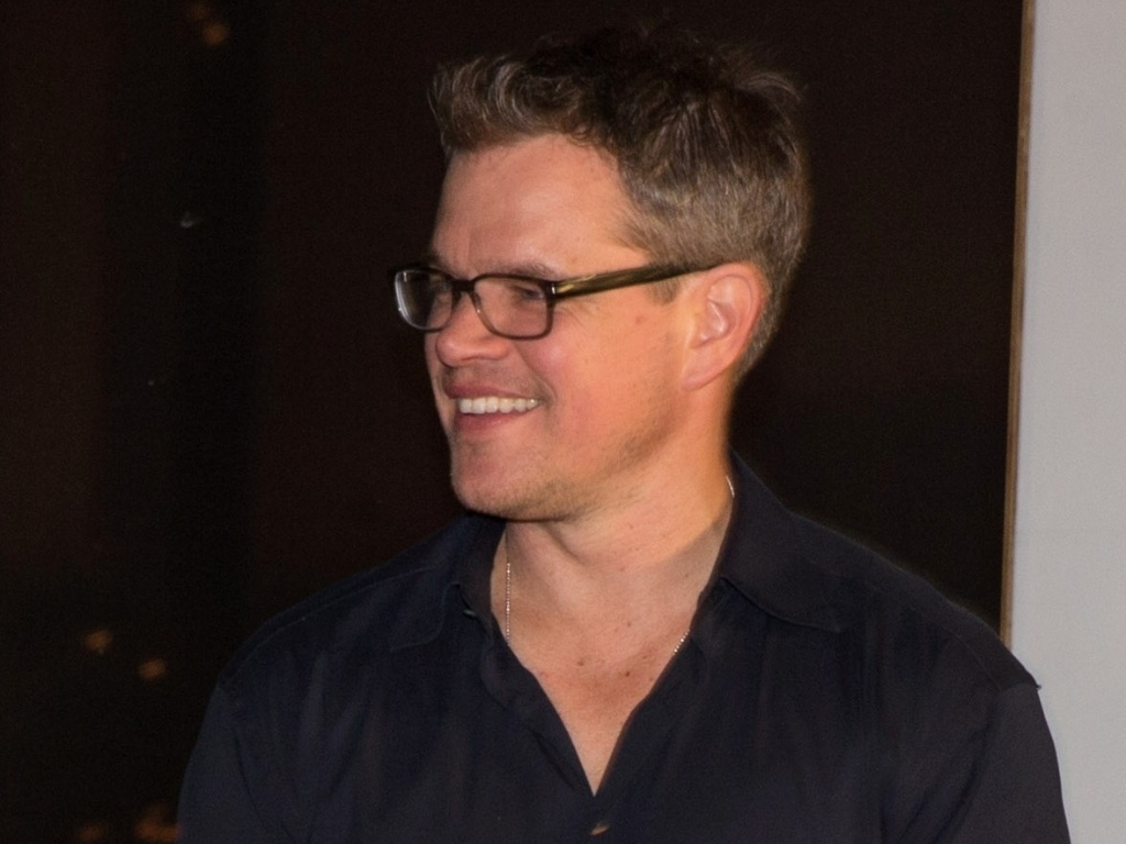 20.abr.2013 - O ator Matt Damon em evento promocional do filme  