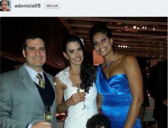 Sheilla ao lado de Adenizia, companheira de Sollys/Nestlé