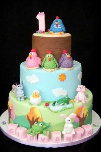 Bolo Galinha Pintainha, da Sweet Carolina The Art of Cake (www.sweetcarolina.com.br)