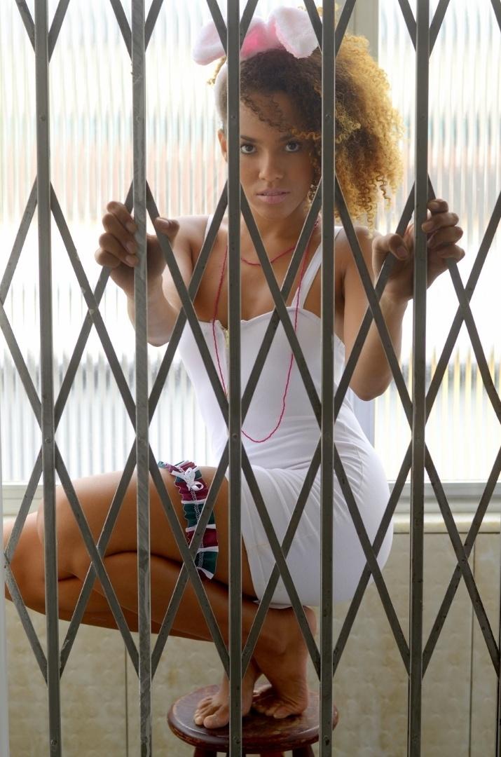 Catarina Braga quer representar o Fluminense no Belas da Torcida 2013