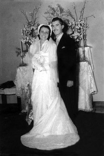 12.jul.1952 - José Sarney casa-se com Marly Macieira em 12 de julho de 1952. Do casamento nasceram três filhos: Roseana, Fernando e José Sarney Filho, o Zequinha