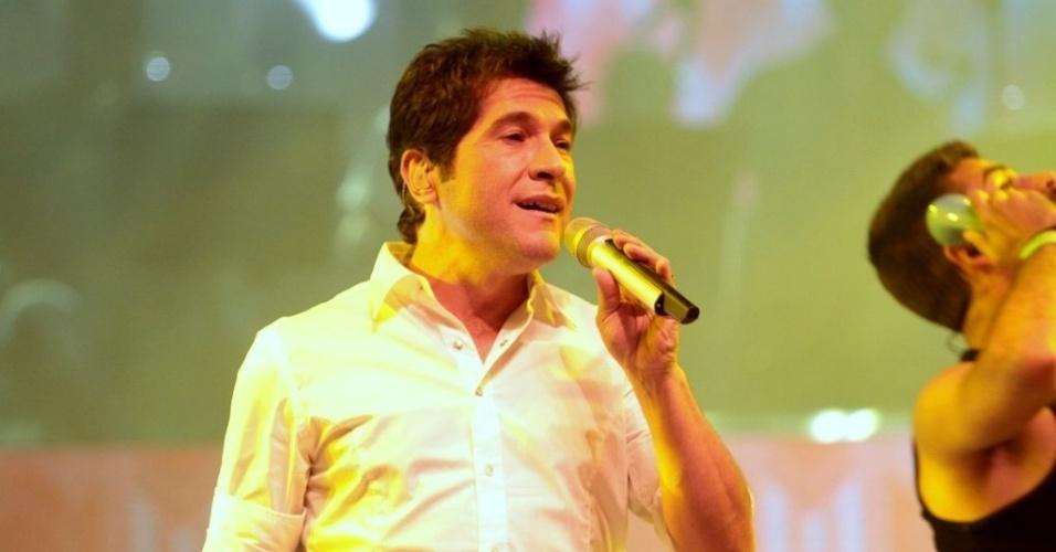 23.abr.2013 - Para comemorar os 30 anos de carreira, o cantor Daniel fez ensaio geral para a gravação do seu novo DVD. A apresentação é um musical composto por atores dos espetáculos