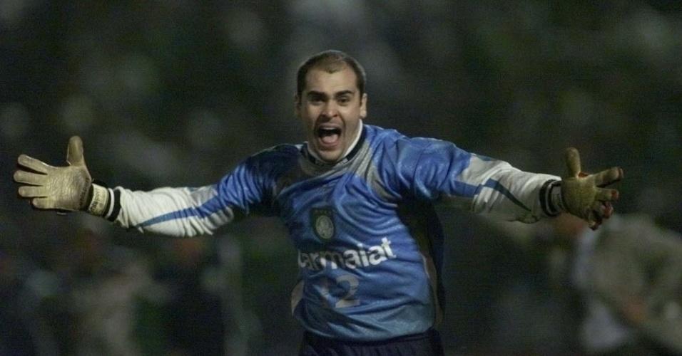 Marcos durante a Libertadores de 1999