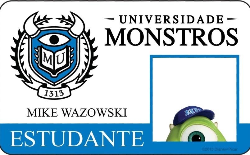 """A Disney Pixar divulgou novo material do filme """"Universidade Monstros"""" que mostra os cartões de identidade de alguns personagens. Mike Wazowski sonha em se formar com louvor na instituição de ensino, e tem a determinação necessária para tanto. Porém, ele se verá obrigado a juntar um grupo de monstros desajustados para aplicar um grande golpe na universidade."""