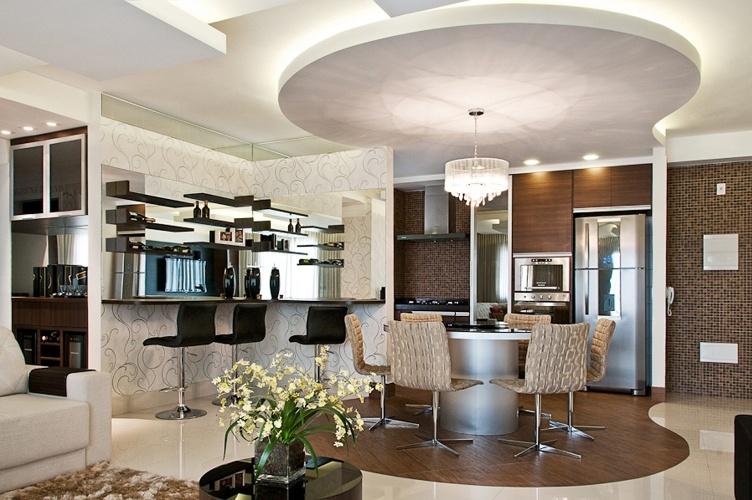 Sala De Jantar Na Cozinha ~ Para compor com a mesa de jantar, o arquiteto Marcos Contrera optou