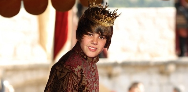 No Tumblr Joffrey Bieber, Justin Bieber se transforma no Rei Joffrey de