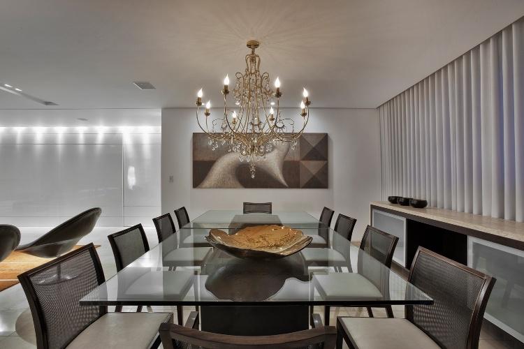 Sala De Jantar Top Moveis ~ Parte do living, a sala de jantar foi criada pela arquiteta Cristina