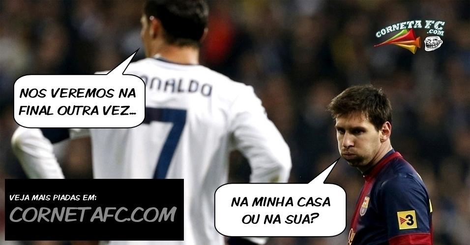 Veja essa e outras piadas sobre a goleada do Borussia Dortmund no Real Madrid no blog Corneta FC