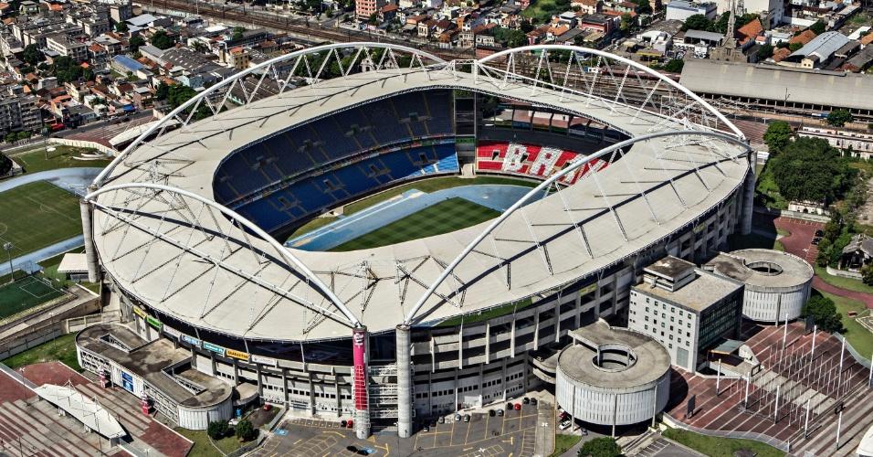 Vista aérea do Estádio Olímpico João Havelange