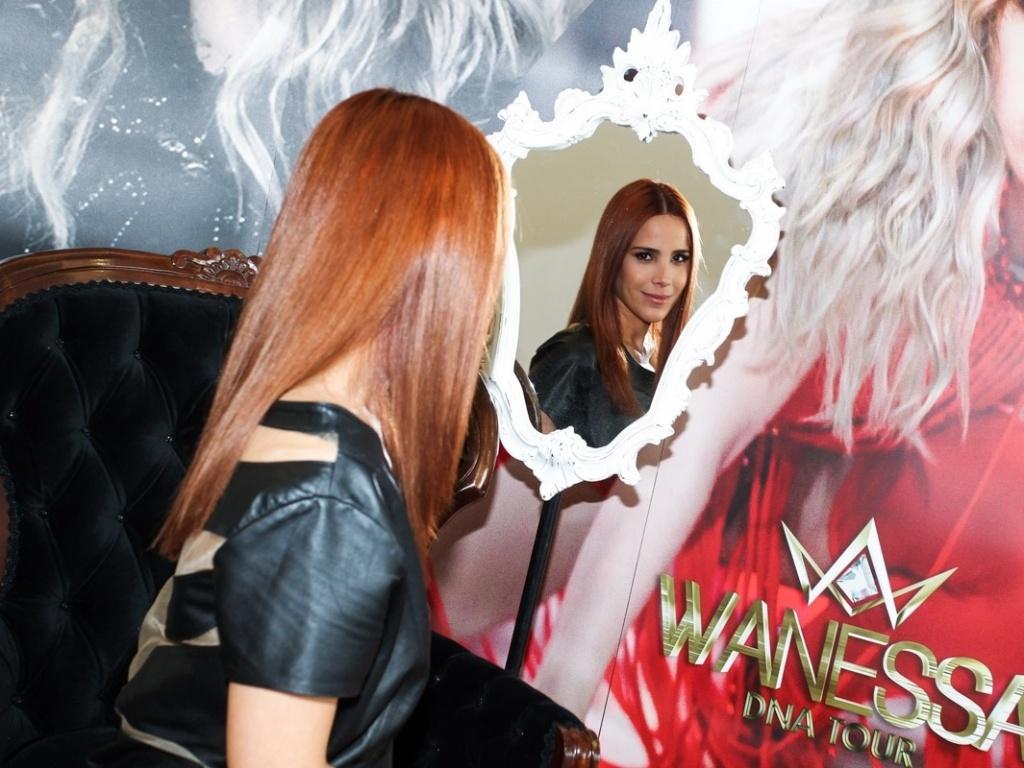 25.abr.2013 - A cantora Wanessa Camargo lançou seu mais novo CD e DVD, intitulado