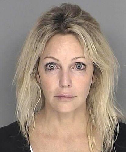 28.set.2008 - A atriz Heather Locklear foi detida suspeita de dirigir sob influência de medicamentos controlados, em Santa Barbara