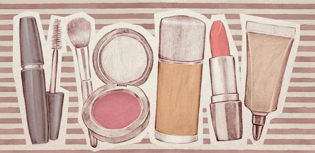 Leve para a maternidade um kit básico de maquiagem, ele fará um bem danado à sua autoestima