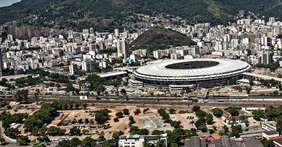 12.abr.2013 - Área próxima ao Maracanã será revitalizada para a Copa do Mundo de 2014