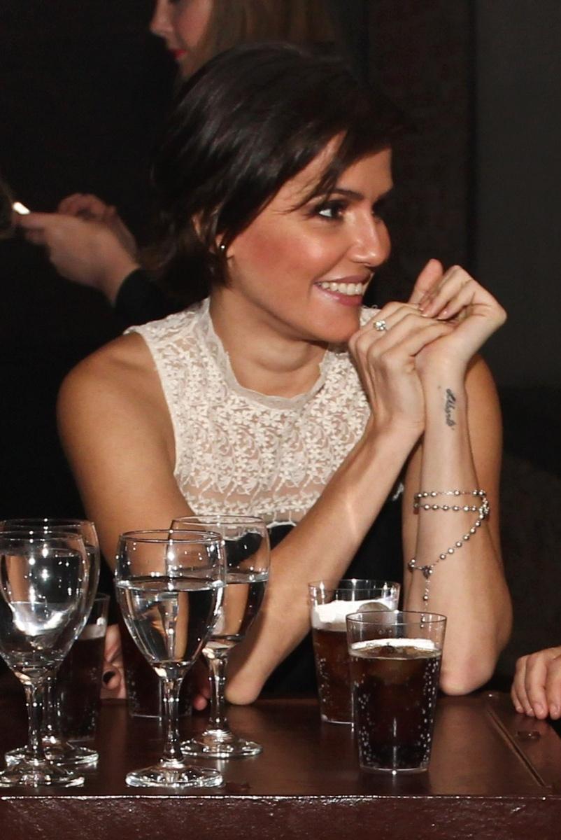 25.abr.2013 - Quando questionada sobre o significado para ela da palavra amor, a atriz declarou: