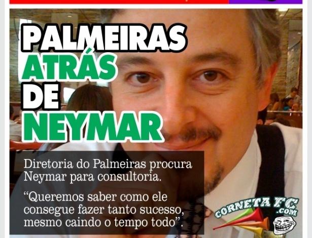 Corneta FC: Neymar é o novo consultor do Palmeiras