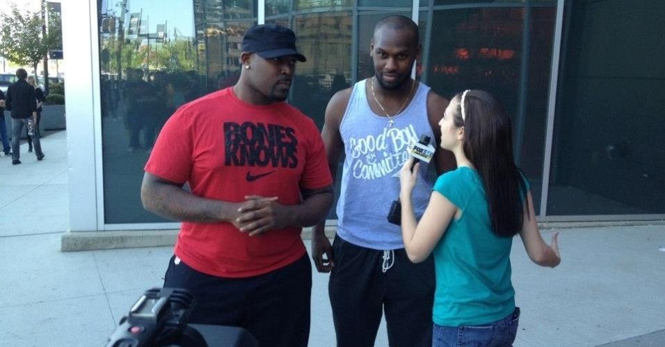 Irmãos de Jon Jones dão entrevista antes do UFC 159