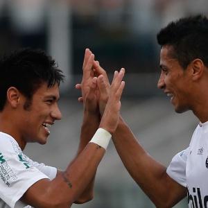 : Neymar admite dores em vitória nos pênaltis contra o Palmeiras pelas 4ªs