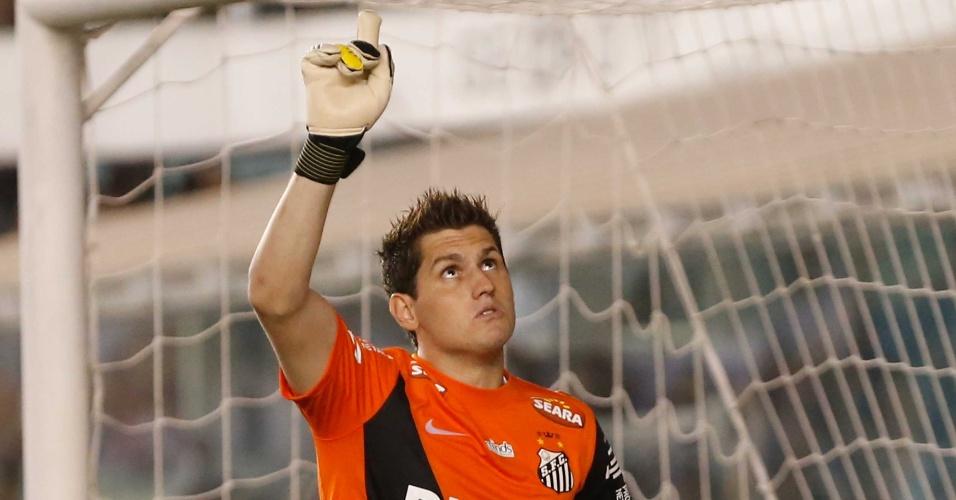 Rafael fez duas defesas nas penalidades, Santos venceu o Palmeiras por 4 a 2 nas cobranças e passou para as semifinais do Estadual