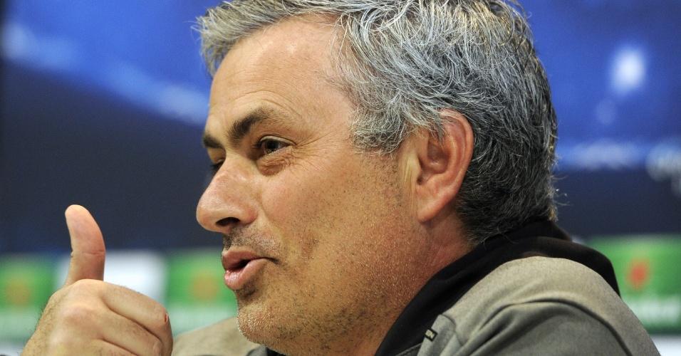 29.abr.2013 - José Mourinho considera