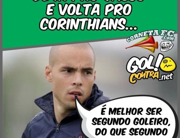 Corneta FC: Julio Cesar explica porque decidiu ficar no Corinthians