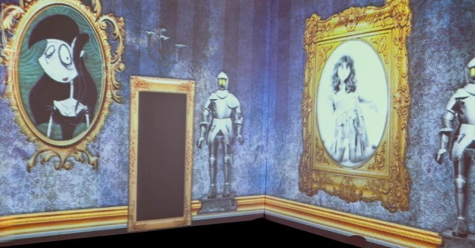 As produções do cineasta Tim Burton deram o tom a esta festa.  Uma projeção com alguns dos personagens de Burton ambientou um dos espaços do evento produzido pela 1-18 Project. (www.1-18project.com)