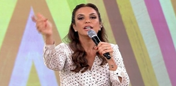 Cantora Ivete Sangalo participa do 