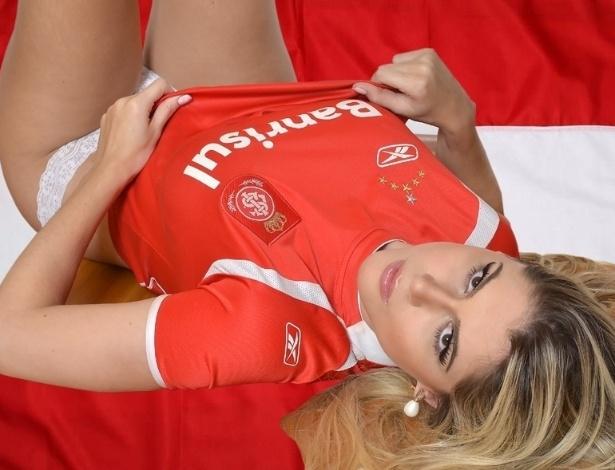 Fernanda Araldi vai representar o Internacional no Belas da Torcida 2013