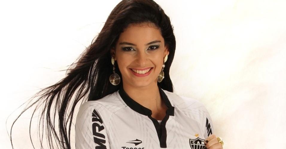 Joanna Mattos vai representar o Atlético-MG no Belas da Torcida 2013