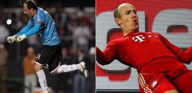 Rogério Ceni e Robben podem se encontrar em campo na Copa Audi