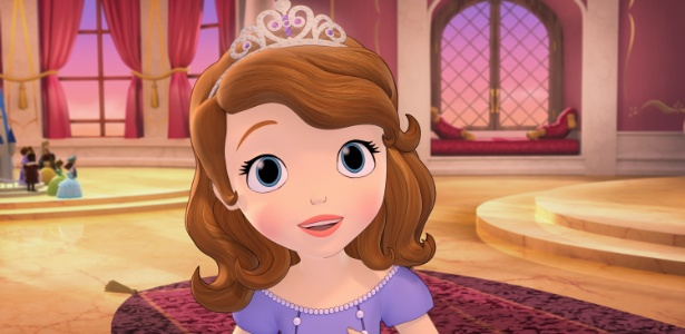 Sofia virou princesa ap�s sua m�e casar com o Rei Roland 2�