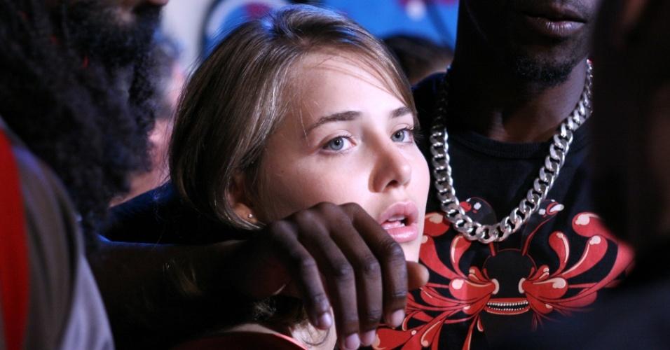 """01.mai.2013 - Letícia Colin em cena de """"Bonitinha, Mas Ordinária"""", adaptação cinematográfica da obra homônima de Nelson Rodrigues"""