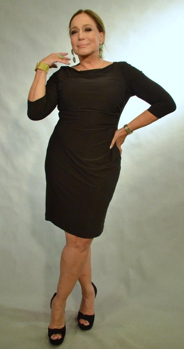 30.abr.2013 - Susana Vieira posa durante o lançamento da novela