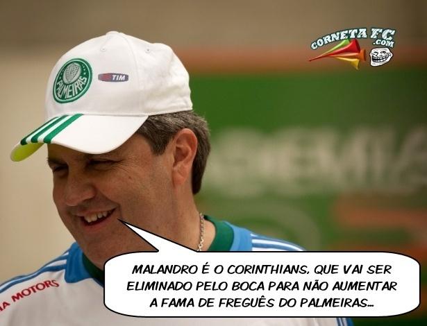 Corneta FC: Corinthians usa malandragem para não ser freguês do Palmeiras