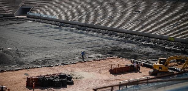 Obras do Itaquerão estão em estágio avançado e o empréstimo do BNDES ajudaria no ajuste financeiro