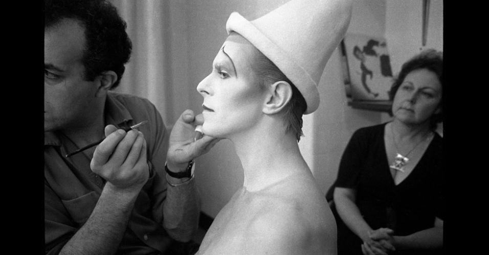 A exposição marca o 40º aniversário de um dos trabalhos mais famosos de Duffy, a famosa capa do álbum de Bowie Aladdin Sane, de 1973