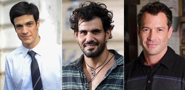 Mateus Solano, Juliano Cazarré e Malvino Salvador estarão em