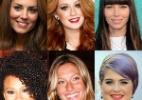 Faça o teste e veja como você ficaria com o cabelo das famosas - Arte/UOL