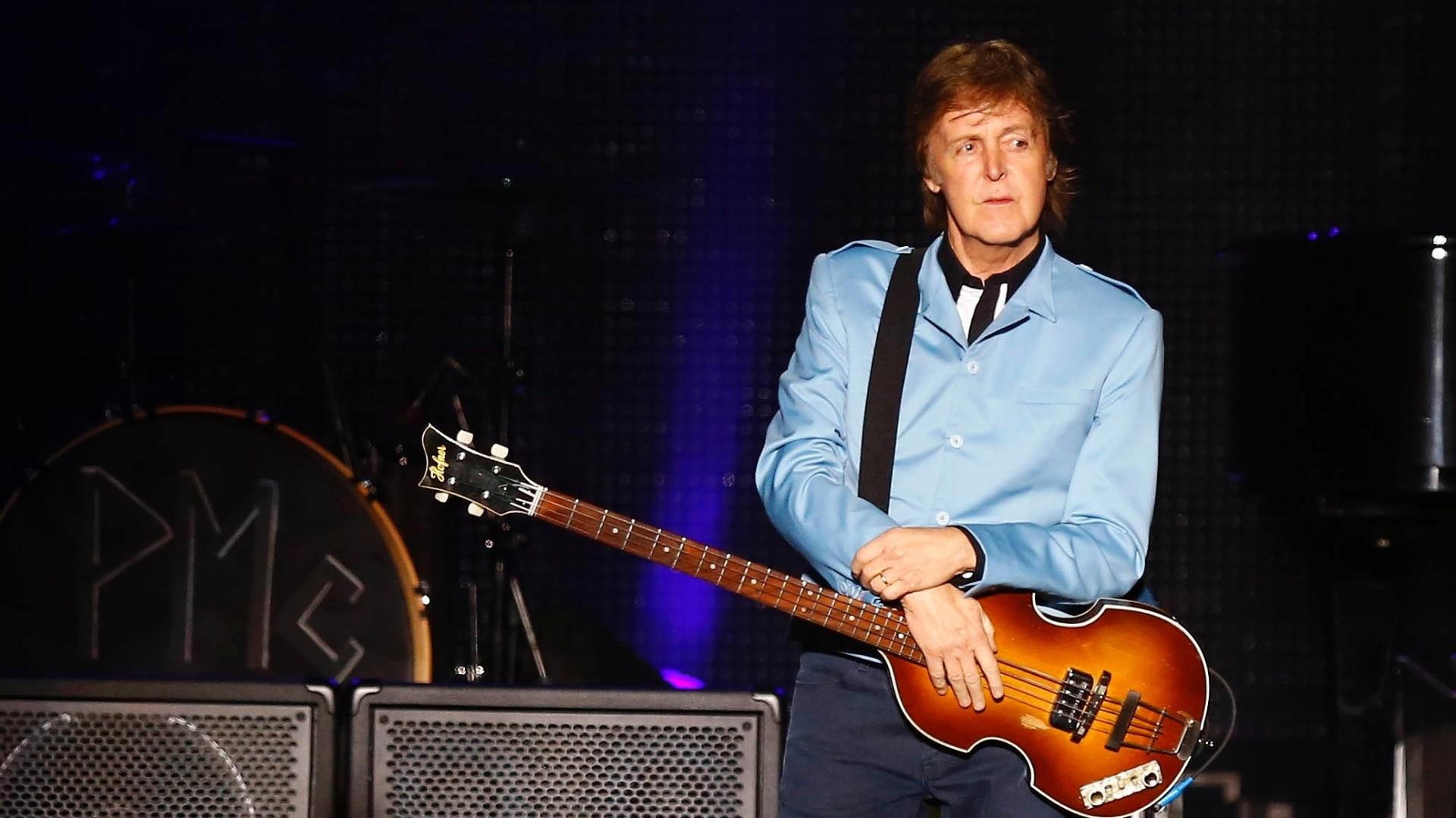 4.mai.2013 - Paul McCartney faz show no Mineirão, em Belo Horizonte