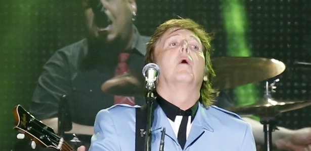 4.mai.2013 - Paul McCartney se apresenta no Mineirão, em Belo Horizonte