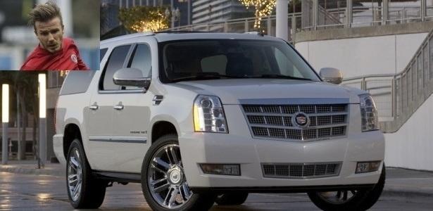 O Cadillac Escalade de David Beckham, estrela do PSG, custar cerca de R$ 920 mil