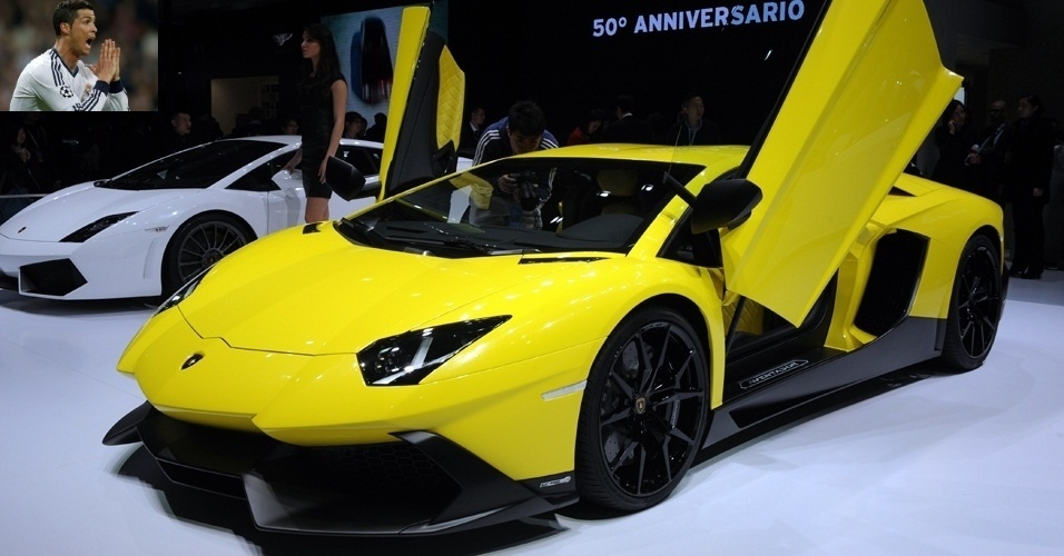 O gajo tambm possui um Lamborghini Aventador de quase R$ 3 milhes